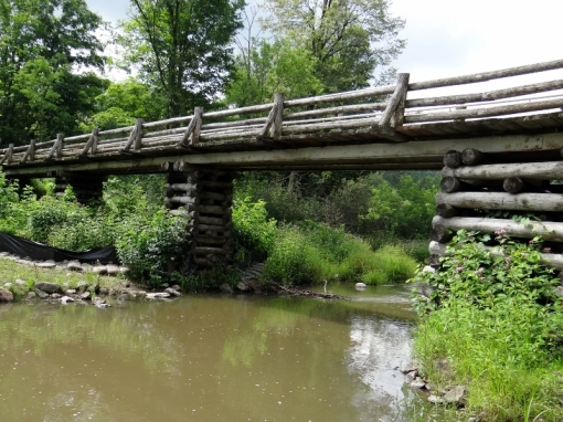 Bridge at Sugarbush Trail