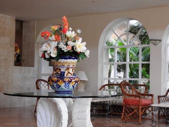 El Cozumeleno - lobby