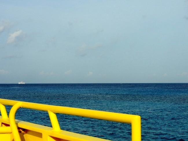 Crossing Cozumel Channel